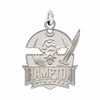 Hampton Pirates Natural Finish Charm