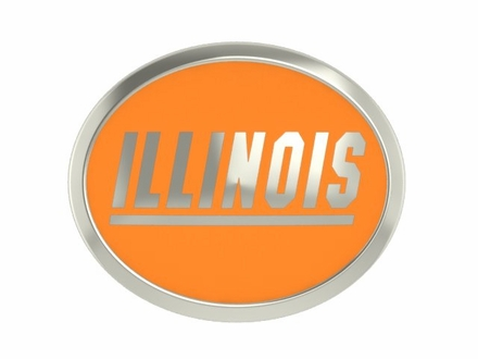 Illinois Fighting Illini Enamel Bead