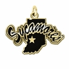 Indiana State Sycamores 14KT Gold Charm