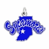 Indiana State Sycamores Logo Charm