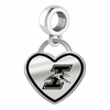 Indianapolis Greyhounds Border Heart Dangle Charm