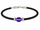 James Madison Dukes Rubber Bracelet