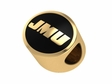 James Madison JMU 14kt Gold Bead