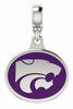 Kansas State Wildcats Enamel Drop