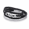 Kappa Delta Sorority Leather Bracelet