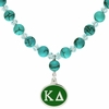 Kappa Delta Turquoise Drop Necklace