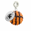 Kent State Golden Flashes Crystal Drop Charm