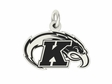 Kent State Golden Flashes Silver Charm