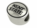 Kent State Golden Flashes Antiqued Bead