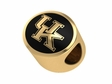 Kentucky Wildcats 14kt Gold Bead