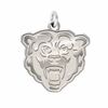 Kutztown Golden Bears Natural Finish Charm