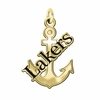 Lake Superior State Lakers 14KT Gold Charm
