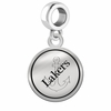 Lake Superior State Lakers Border Round Dangle Charm