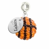 Lake Superior State Lakers Crystal Drop Charm