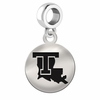 Louisiana Tech Round Dangle Charm