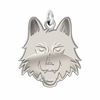 Loyola Chicago Ramblers Natural Finish Charm