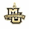 Marquette Golden Eagles 14KT Gold Charm
