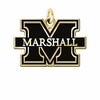 Marshall The Thundering 14KT Gold Charm