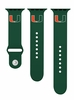 Miami Hurricanes Band Fits Apple Smart Watch