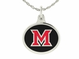 Miami of Ohio Charm Pendant
