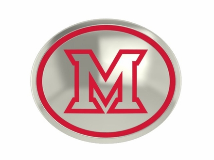Miami of Ohio Redhawks Enamel Bead