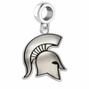 Michigan State Spartans Logo Cut Out Dangle