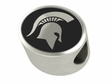 Michigan State Spartans Antiqued Bead
