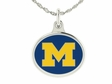 Michigan Wolverines Charm