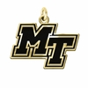 Middle Tennessee State Blue Raiders 14KT Gold Charm