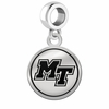Middle Tennessee State Blue Raiders Border Round Dangle Charm