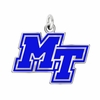 Middle Tennessee State Blue Raiders Logo Charm