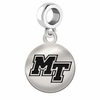 Middle Tennessee State Round Dangle Charm