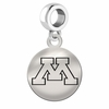 Minnesota Round Dangle Charm