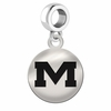 Mississippi Round Dangle Charm