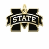 Mississippi State Bulldogs 14KT Gold Charm