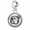 Mississippi State Bulldogs Border Round Dangle Charm