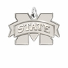 Mississippi State Bulldogs Natural Finish Charm
