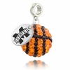 Mississippi State Crystal Drop Charm