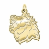 Missouri Southern State Lions 14K Yellow Gold Natural Finish Cut Out Logo Charm