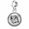 Missouri Southern State Lions Border Round Dangle Charm