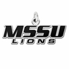 Missouri Southern State Lions Word Mark Charm
