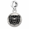 Missouri State Round Dangle Charm