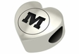 Monmouth Fighting Scots Heart Shape Bead