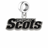 Monmouth Scots Logo Cut Out Dangle