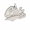 Montana Grizzlies Natural Finish Charm