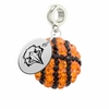 Morehead State Eagles Crystal Drop Charm