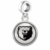 Morgan State Bears Border Round Dangle Charm