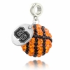 NC State Crystal Drop Charm
