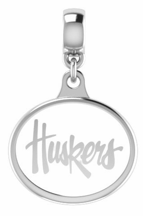 Nebraska Huskers Enamel Drop Charms