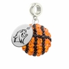 New Hampshire Wildcats Crystal Drop Charm